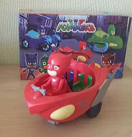 Игрушка Герои в масках PJ Masks Аллет на машине