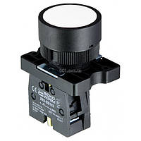 Кнопка без фиксации (1НО) белая LAY5-EA11, АСКО-УКРЕМ, A0140010193