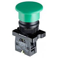 Кнопка «грибок» (d 40 мм) без фиксации (1НО) зеленая LAY5-EC31, АСКО-УКРЕМ, A0140010191
