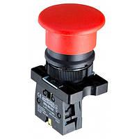 Кнопка «грибок» (d 40 мм) без фиксации (1НЗ) красная LAY5-EC42, АСКО-УКРЕМ, A0140010189