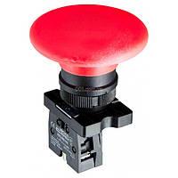 Кнопка «грибок» (d 60 мм) без фиксации (1НЗ) красная LAY5-ER42, АСКО-УКРЕМ, A0140010192