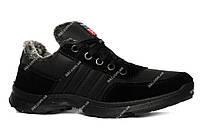 Мужские зимние кроссовки на меху очень теплые Л-251