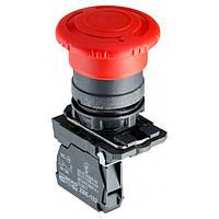 Кнопка «грибок» с фиксацией (1НЗ, возврат поворотом) TB5-AS542, АСКО-УКРЕМ, A0140010163