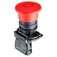 Кнопка «грибок» с фиксацией (1НЗ, тяни-толкай) TB5-AT42, АСКО-УКРЕМ, A0140010164
