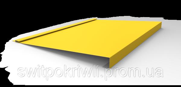 Металлический сайдинг (блок-хаус) одинарная доска