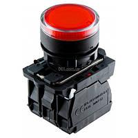 Кнопка с подсветкой без фиксации (1НО+1НЗ) красная TB5-AW34M5, АСКО-УКРЕМ, A0140010174