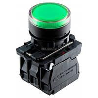 Кнопка с подсветкой без фиксации (1НО+1НЗ) зеленая TB5-AW33M5, АСКО-УКРЕМ, A0140010173