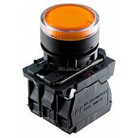 Кнопка с подсветкой без фиксации (1НО+1НЗ) желтая TB5-AW35M5, АСКО-УКРЕМ, A0140010175
