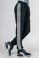 Спортивные штаны подростковые трикотаж_черные, фото 1