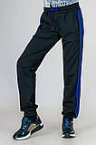 Спортивные штаны подростковые с лампасами, фото 2