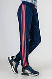 Спортивные штаны подростковые с яркими лампасами, фото 2