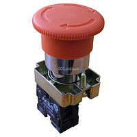 Кнопка «грибок» с фиксацией (1НЗ, возврат поворотом) XB2-BS542, АСКО-УКРЕМ, A0140010017