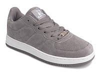 Женские замшевые серые кроссовки копия Nike Air Force 1 Low 50b4649c24af3