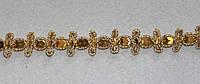 Тесьма декоративная люрекс золото  6127