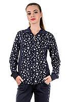 Cпортивный костюм женский Звезды (синий), фото 1