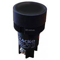 Кнопка с фиксацией (1НО+1НЗ) черная XB2-EH125, АСКО-УКРЕМ, A0140010040