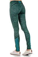Спортивные лосины Fitness (зеленые), фото 1