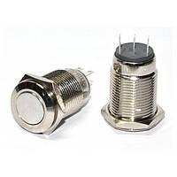 Кнопка металлическая с фиксацией (1НО+1НЗ) TYJ16-311, АСКО-УКРЕМ, A0140010090