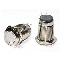 Кнопка металлическая с фиксацией (2НО+2НЗ) TYJ16-312, АСКО-УКРЕМ, A0140010091