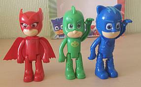 Набор игрушек Героев в масках PJ Masks. Кетбой, Гекко, Аллет