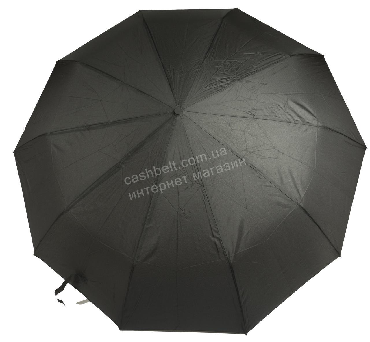 Мужской прочный стильный зонт автомат классический черный цвет MAX komfort art. 914 большой купол (101514)