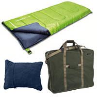 Спальники, подушки, карематы