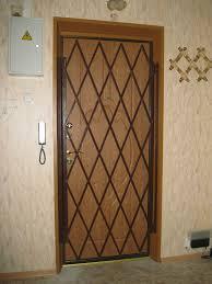 Раздвижные решётки на двери и окна.
