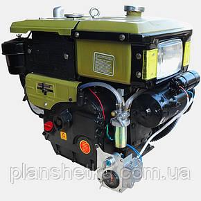 Двигатель дизельный Кентавр ДД195ВЭ (12 л.с.,электорстартер), фото 2