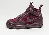 Мужские кроссовки Nike Lunar Force 1 Flyknit Workboot Purple, Black  АТ-617