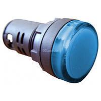 Светосигнальная арматура AD22-22DS синяя 24В АC/DC, АСКО-УКРЕМ, A0140030153