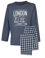 Піжама Muzzy Лондон чоловіча (довгий рукав+ штани)