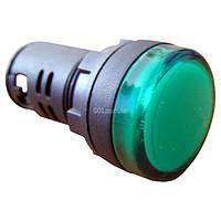 Светосигнальная арматура AD22-22DS зеленая 220В АC, АСКО-УКРЕМ, A0140030045