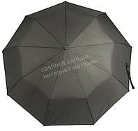 Мужской прочный зонт полуавтомат классический черный цвет LANTANA art. 699 черный (101515)