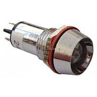 Светосигнальная арматура AD22C-12 красная 24В AC/DC, АСКО-УКРЕМ, A0140030128