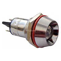Светосигнальная арматура AD22C-16 желтая 24В AC/DC, АСКО-УКРЕМ, A0140030142