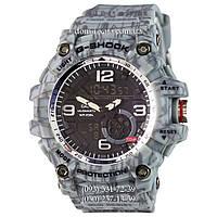 Электронные часы Casio G-Shock GG-1000 Mud-Dark-Gray, спортивные часы Джи Шок серый камуфляж