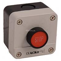 Пост кнопочный одноместный «СТОП» XAL-B114, АСКО-УКРЕМ, A0140020003