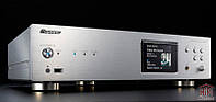Высокоэффективный сетевой проигрыватель Pioneer N-70A с поддержкой Apple и Android Silver Серебряный
