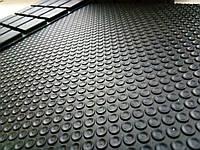 Вибродемпфирующая резиноввая пластина общего назначения  12,5 мм