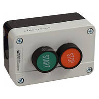 Пост кнопочный двухместный «ПУСК-СТОП» XAL-B215, АСКО-УКРЕМ, A0140020007
