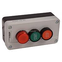 Пост кнопочный трехместный «ПУСК-СТОП-Сигнальная лампа» XAL-B376, АСКО-УКРЕМ, A0140020019