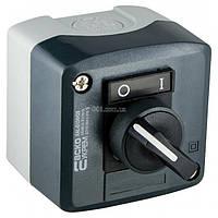 Пост кнопочный одноместный переключатель на 2 положения (O-I) XAL-D134H29, АСКО-УКРЕМ, A0140020058