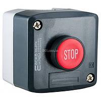 Пост кнопочный одноместный «СТОП» XAL-D114, АСКО-УКРЕМ, A0140020055