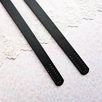 Ручки для сумки 65 см, черные - пара