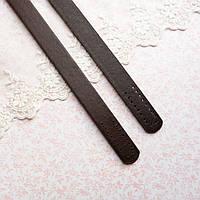 Ручки для сумки 55 см, темно-коричневые - пара, фото 1