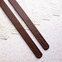 Ручки для сумки 55 см, светло-коричневые - пара, фото 1