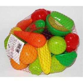 Игрушечные фрукты и овощи