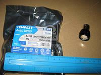 Лампа LED (tmp-07BA15s-12V) задний ход(линза) 1SMD BA15s 12V WHITE <TEMPEST>