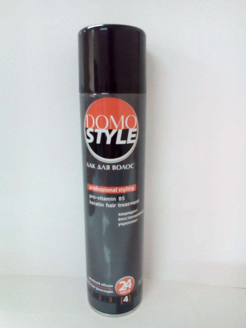 Лак для волосся NEW (4 супер сильна фіксація) (а/б 300 мл) DOMO STYLE