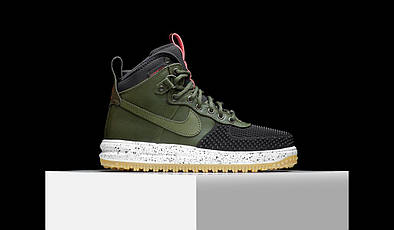 "Кроссовки Nike Lunar Force Duckboot  ""Dark Loden"""